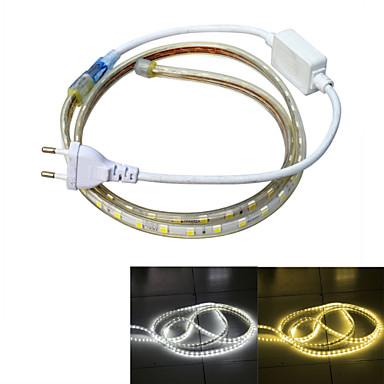 Strømforsyning 60 LED Varm hvit Hvit Vanntett Passer for kjøretøy 220V