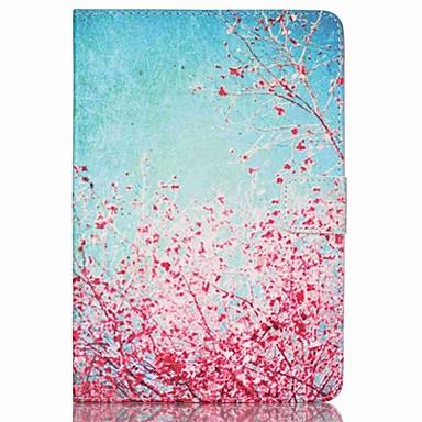Case Kompatibilitás iPad Mini 3/2/1 Kártyatartó Állvánnyal Héjtok Virág PU bőr mert iPad Mini 3/2/1