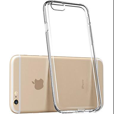 Etui Til iPhone 5 Apple Etui iPhone 5 Gjennomsiktig Bakdeksel Helfarge Myk TPU til iPhone SE/5s iPhone 5