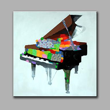 Kézzel festett Csendélet Négyzet, Modern Vászon Hang festett olajfestmény lakberendezési Egy elem