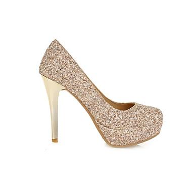 Fille Aiguille Doré Eté 04676397 Chaussures PVC Mariage Evénement Talon amp; Noir Vert Automne Printemps Femme Soirée 0xpdq0