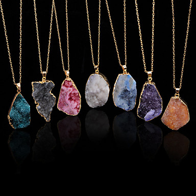Women's Pendant Necklace Alloy Pendant Necklace Daily Casual Costume Jewelry