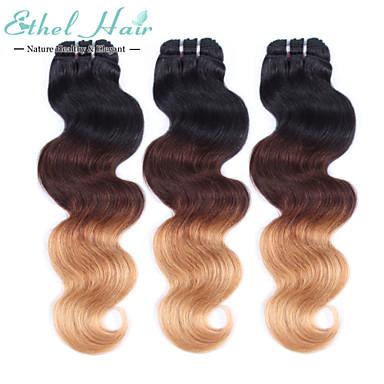 Ombre Brazil haj Hullámos haj 18 hónap 3 darab haj sző