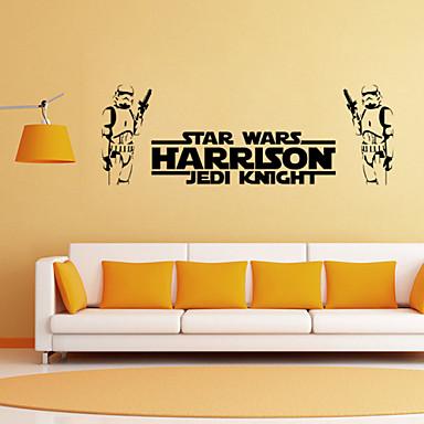 Fashion Shapes Fantasy Wall Stickers Plane Wall Stickers Decorative Wall Stickers, Vinyl Home Decoration Wall Decal Wall