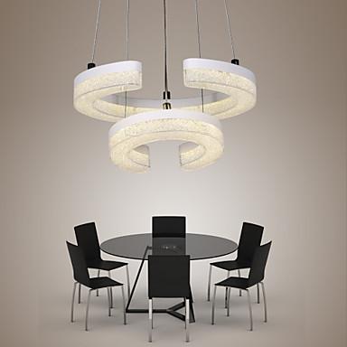 Luzes Pingente Luz Descendente - LED, 110-120V / 220-240V, Branco, Fonte de luz LED incluída / 10-15㎡ / Led Integrado