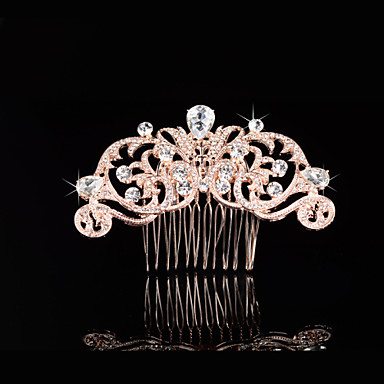 Imitation Pearl Rhinestone Hair Combs 1 Wedding Special Occasion Headpiece