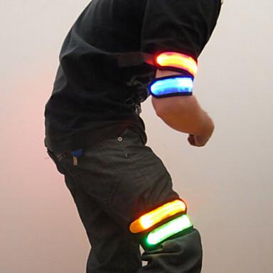 LED karpánt szaladóknak Fényvisszaverő pánt Fényvisszaverő öv mert