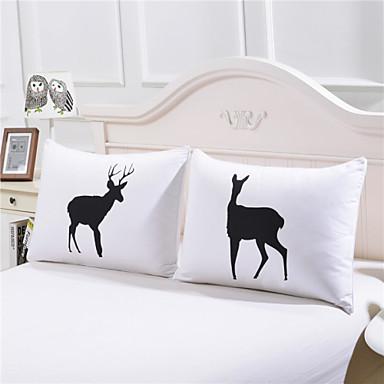 Komfortabel 2stk Putevar, Bomull/Polyester Bomull/Polyester Trykket 230TC Trykt mønster