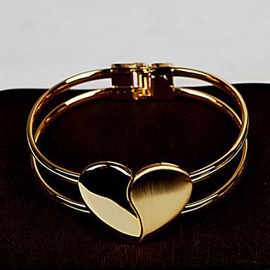Kadın's Mücevher Zincir Yuvarlak Halhallar Altın alaşım Mücevher Düğün Parti Özel Anlar Yıldönümü Doğumgünü Nişan Hediye Günlük Ofis ve