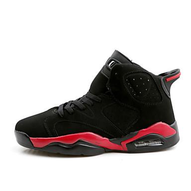 Sapatos Caminhada Feminino / Masculino Preto / Azul / Vermelho / Branco Courino