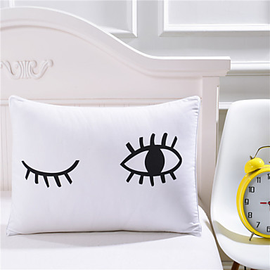 Comfortable 1pc Pillowcase, Cotton/Polyester Cotton/Polyester Printed 230TC Print