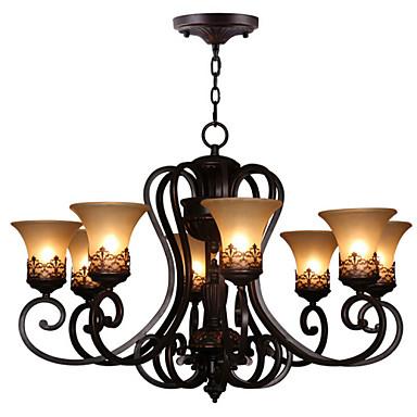 Vintage Crystal Chandelier Ambient Light For Living Room Bedroom Kitchen Dining Room Study Room/Office Kids Room 110-120V 220-240V Bulb