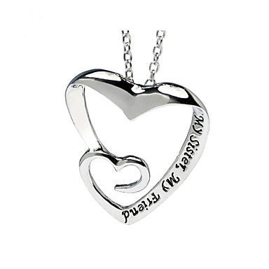 Women's Personalized Love Choker Necklace Pendant Necklace Pendant Alloy Choker Necklace Pendant Necklace Pendant , Party Daily