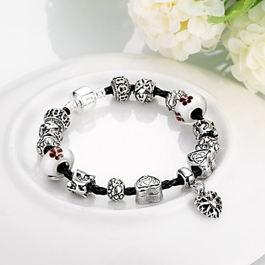 Bracelet Chaînes & Bracelets Bohemia style / Gland / Mode Mariage / Soirée / Quotidien / Décontracté Bijoux Cadeau Argent,1pc