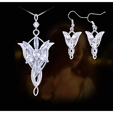 Women's Jewelry Set Party Daily Casual Acrylic Alloy Earrings Necklaces
