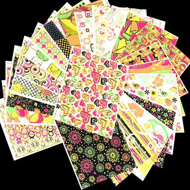 1 Nail Art matrica Szeretetreméltő smink Kozmetika Nail Art Design
