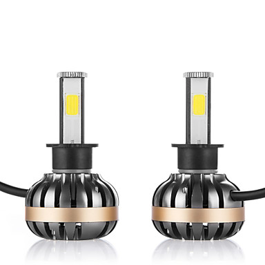 2pcs H1 Car Light Bulbs 80W 3600lm