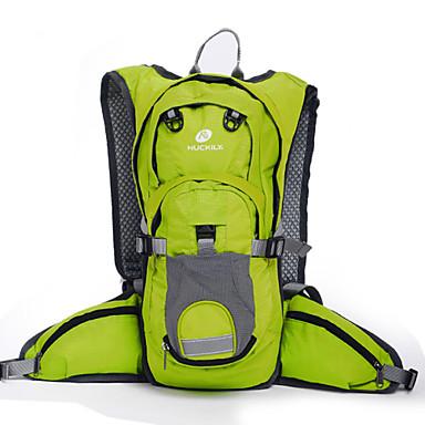 hesapli Bisiklet Çantaları-Nuckily 20 L Bisiklet Sırt Çantası Seyahat Duffel sırt çantası Çok Fonksiyonlu Yansıtıcı Su Geçirmez Toz Geçirmez Açık hava Kamp & Yürüyüş Avlanma Tırmanma polikarbonat Polyester Terylene Siyah