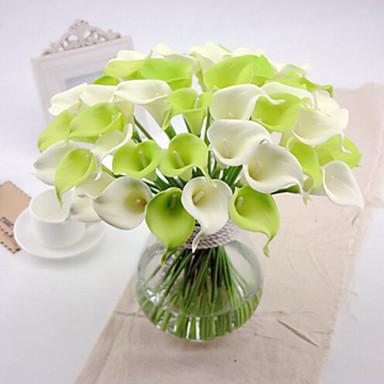 1 şube PU Kalla Zambağı Masaüstü Çiçeği Yapay Çiçekler