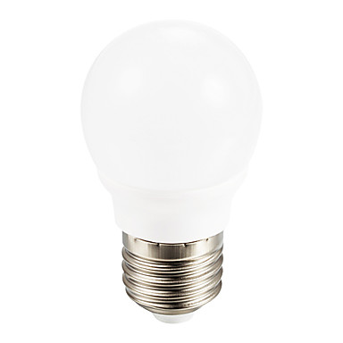 E26 / E27 Żarówki LED 3W Globe 5 smd 5730 350ml zimny biały AC 85-265v Yangming 1 szt