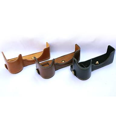 dengpin® pu bőr felében készült tok táska fedél alap sony ilce-7m2 a7ii (vegyes színek)