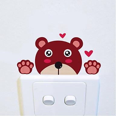 Manzara Hayvanlar Romantizm Tebeşir Tahtası Moda Şekiller Tatil Karton Fantezi Duvar Etiketler Uçak Duvar Çıkartmaları Dekoratif Duvar