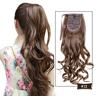 Trança Ondulado Pedaço de cabelo Alongamento 20 polegadas # 12