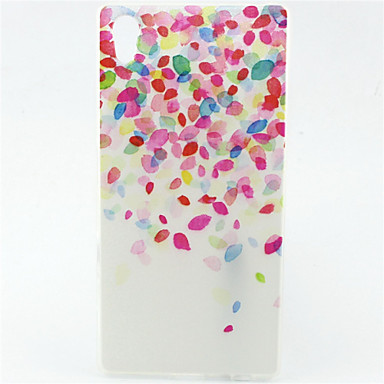 Color Balloon Pattern TPU Soft Case for Sony Xperia Z5 Cases / Covers for Sony