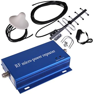 Mini CDMA 850MHz cep telefonu sinyal güçlendirici amplifikatör + anten kiti