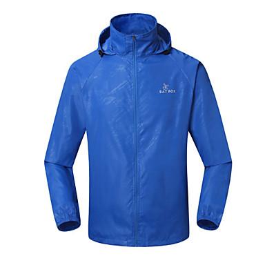 BATFOX® Kerékpáros kabát Uniszex Hosszú ujj Bike Vízálló / Légáteresztő / Gyors szárítás / Szélbiztos / Sugárzásvédett / Könnyű anyagok