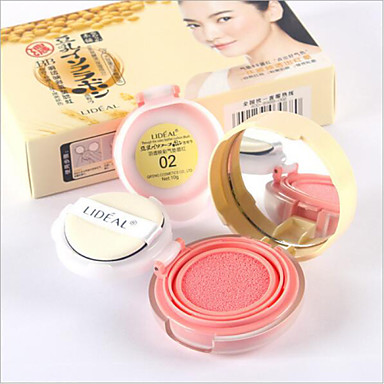 3 Blush Dry Powder Coloured gloss Moisture Oil-control Long Lasting Concealer Uneven Skin Tone Natural Pore-Minimizing Brightening Face