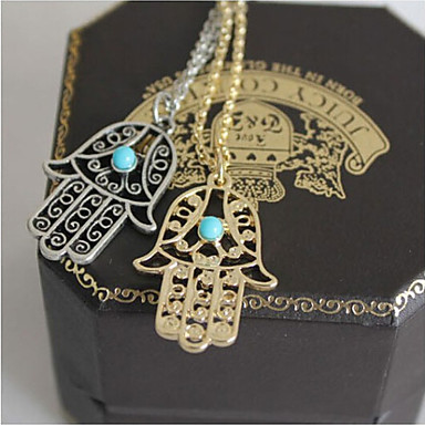 Women's Fashion Pendant Necklace Alloy Pendant Necklace , Wedding Party Daily Casual