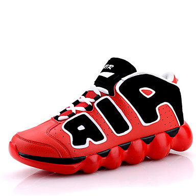 Bărbați Pantofi de noutate Imitație Piele Primăvară / Toamnă Confortabili Basket Anti-Alunecare Verde / Albastru / Negru / Roșu