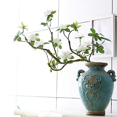 Simulation Rhododendra Flower Artficial Flower Decortive Fumishing Articles