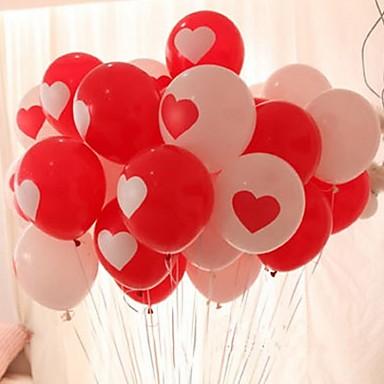 10 stk hjerter rundt form bryllup bursdagsfest dekorasjon hjemme dekor festival