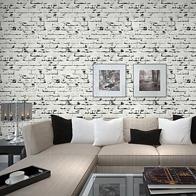 Geometrik Ev dekorasyonu Çağdaş Duvar Kaplamaları, Örgü olmayan Kağıt Malzeme Yapıştırıcı gerekli duvar kağıdı, Oda Wallcovering
