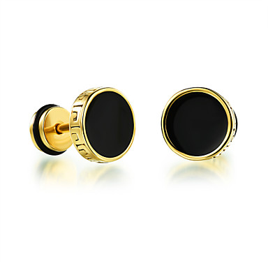 Men's Stud Earrings Fashion Platinum Plated Jewelry Party Daily Casual Costume Jewelry