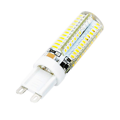 3.5W 300 lm G9 LED Mais-Birnen T 104 Leds SMD 3014 Kühles Weiß Wechselstrom 220-240V