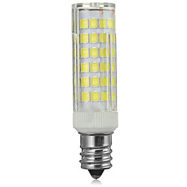 Marsing® E14 8W 600lm 3500/6500K 75-SMD 2835 LED Cool /Warm White Light Bulb Lamp (AC 220-240V)