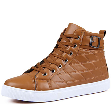 Men's Shoes Casual Fashion Sneakers Black / Brown / Yellow