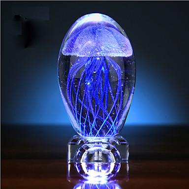 Valentin nap medúza izzás labda kristály kis éjszakai fény zenedoboz kreatív ajándék led lámpa