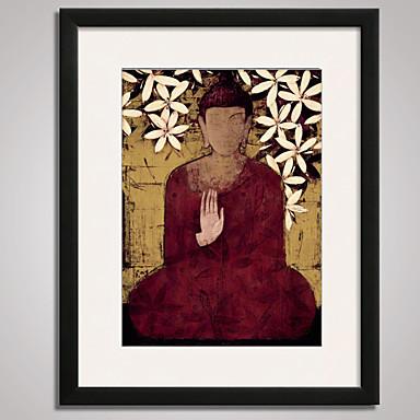 Famoso Abstracto Pessoas Impressão de Arte Emoldurada Quadros Emoldurados Arte de Parede,PVC Material com frame For Decoração para casa