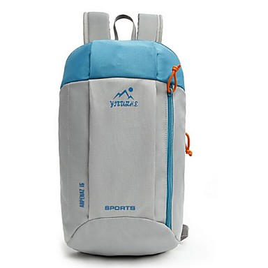 Unisexo Bolsas Tecido Oxford mochila para Casual Ao ar livre Todas as Estações Roxo Fúcsia Verde Azul Azul Claro