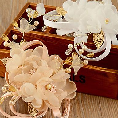 Organza Flowers Headpiece