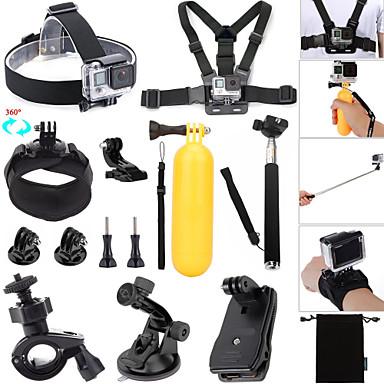 Clipe / Boje / Sucção Ajustável / Impermeável / Flutuante Para Câmara de Acção Todos / Gopro 5 / Xiaomi Camera Surfe / Mergulho / Esqui