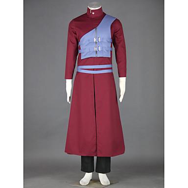 קיבל השראה מ Naruto Gaara אנימה תחפושות קוספליי חליפות קוספליי טלאים מעיל אפוד מכנסיים חגורה עבור זכר