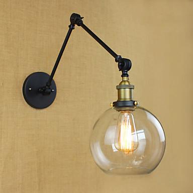 AC 100-240 40W E26/E27 Moderni Galvanoitu Ominaisuus for Lamppu sisältyy hintaan,Ympäröivä valo Varsivalaisimet Wall Light