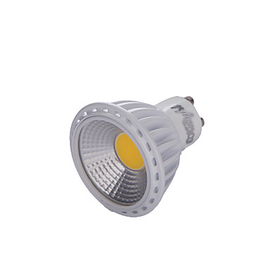 Yoklight ® gu10 6w cob הוביל dimmable זרקור חם לבן / לבן 450-500lm (100-120v / 220-240v)