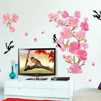 חיות / אנימציה / רומנטיקה / דוממים / אופנה / חג / צורות / וינטג' / אנשים / פנטזיה / נופש מדבקות קיר מדבקות קיר תלת מימד , PVC 60*90cm