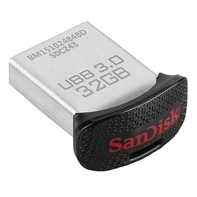 SanDisk Ultra ajuste 32GB drive USB 3.0 de flash (sdcz43-032g-gam46)